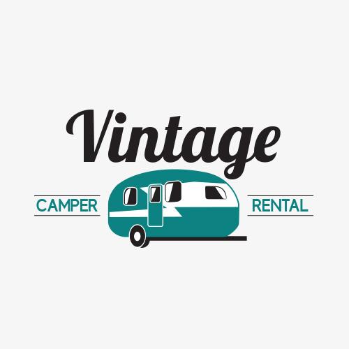 Logo Design For Vintage Camper Rental